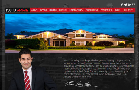 Wordpress, real estate broker site , custom plugins development for property management.